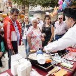 Cocinero en la Fiesta del Pimiento del Piquillo de Lodosa preparando Cordero de Navarra