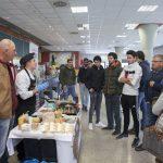 Estudiantes de la Universidad Pública de Navarra escuchan al cocinero Juan Carlos Fernández